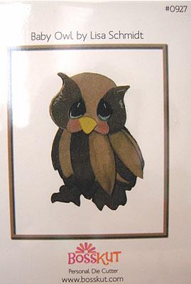 Animal Bosskut Die Baby Owl 0927