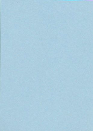 A6 PALE BLUE CARD 230gsm 25 sheets