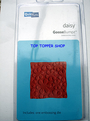 DAISY SOLID QUICKUTZ GOOSEBUMPZ EMBOSSING DIE GB-019