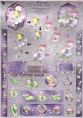FREESTYLE DUFEX DECOUPAGE & TOPPERS FAIRIES