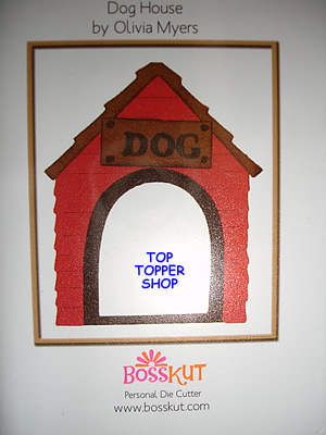 PETS BOSSKUT DIE - DOG HOUSE 0664