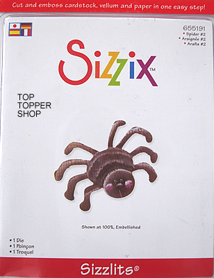 SPIDER #2 SIZZIX SIZZLITS SINGLE DIE